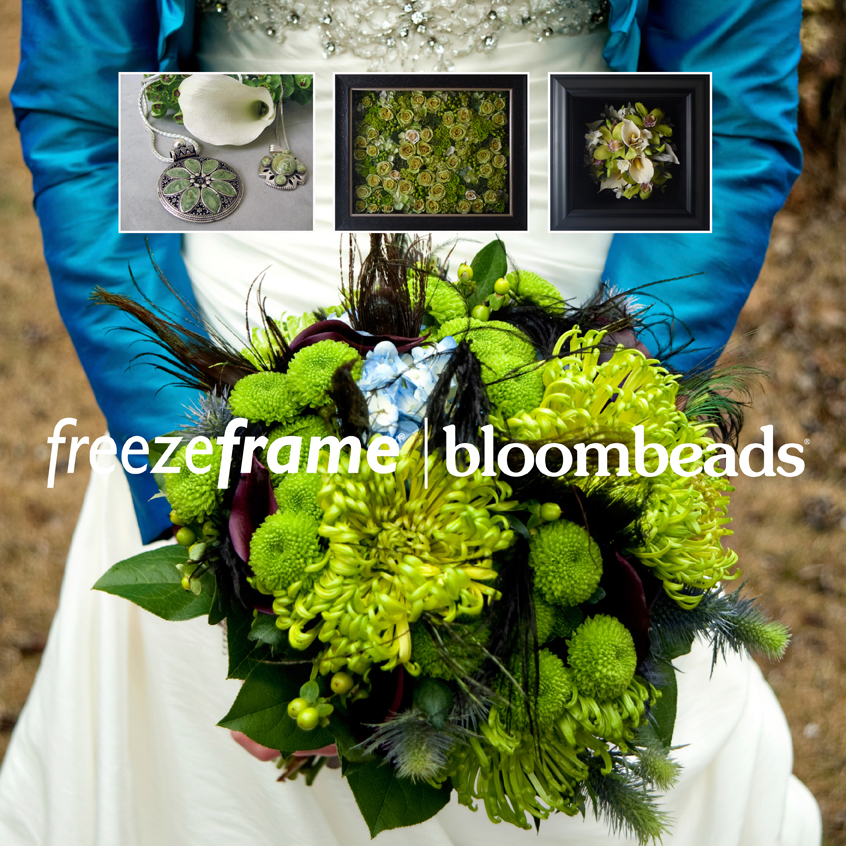 Wedding Bouquet Preservation Hawaii : Freezeframebloombeads ohio wedding floral preservation